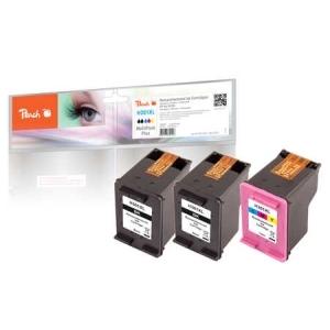 Peach  Spar Pack Plus Druckköpfe kompatibel zu Hersteller-ID: No. 301XL, CH563EE, CH564EE Tinte