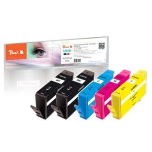 Peach  Spar Pack Plus Tintenpatronen kompatibel zu Hersteller-ID: No. 364XL Toner
