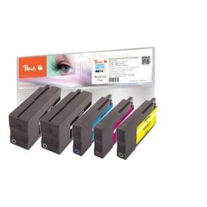Peach  Spar Pack Plus Tintenpatronen kompatibel zu Hersteller-ID: No. 950XL, No. 951XL Toner