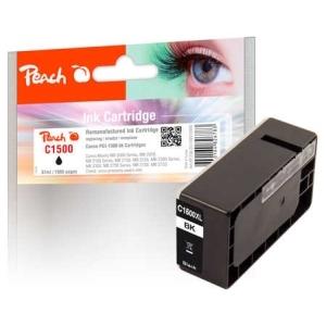 Peach  XL-Tintenpatrone schwarz kompatibel zu Hersteller-ID: PG-1500XLBK Toner