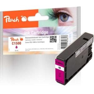 Peach  XL-Tintenpatrone magenta kompatibel zu Hersteller-ID: PGI-1500XLM Toner