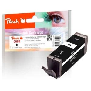 Peach  Tintenpatrone schwarz kompatibel zu Hersteller-ID: PGI-550bk Tinte