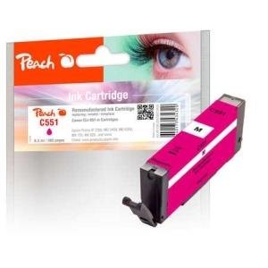 Peach  Tintenpatrone magenta kompatibel zu Hersteller-ID: CLI-551m Druckerpatronen