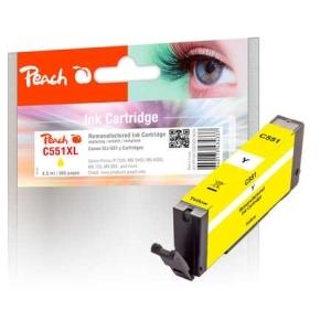 Peach  Tintenpatrone gelb kompatibel zu Hersteller-ID: CLI-551y Toner