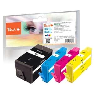 Peach  Spar Pack Tintenpatronen kompatibel zu Hersteller-ID: No. 934XL, No. 935XL Tinte