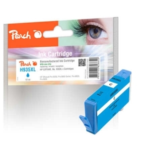 Peach  Tintenpatrone cyan HC kompatibel zu Hersteller-ID: No. 935XL, C2P24AE Toner