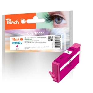 Peach  Tintenpatrone magenta HC kompatibel zu Hersteller-ID: No. 935XL, C2P25AE Toner