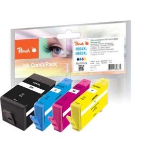 Peach  Spar Pack Tintenpatronen kompatibel zu Hersteller-ID: No. 934XL, No. 935XL Toner