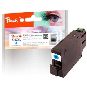 Peach  Tintenpatrone XXL cyan kompatibel zu Hersteller-ID: No. 79XXL, T7892 Tinte