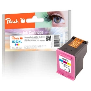 Peach  Druckkopf color kompatibel zu Hersteller-ID: No. 302XL col, F6U67A Tinte