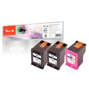 Peach  Spar Pack Plus Druckköpfe kompatibel zu Hersteller-ID: No. 302, F6U66A, F6U65A Tinte