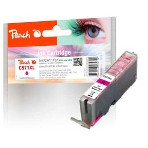 Peach  Tintenpatrone XL magenta kompatibel zu Hersteller-ID: CLI-571XL m Tinte