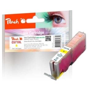 Peach  Tintenpatrone XL gelb kompatibel zu Hersteller-ID: CLI-571XL y Tinte