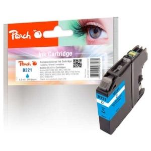 Peach  Tintenpatrone cyan kompatibel zu Hersteller-ID: LC-221C Toner