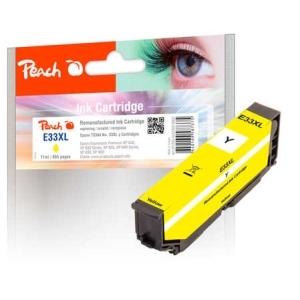 Peach  Tintenpatrone gelb kompatibel zu Hersteller-ID: No. 33XL y, T3364 Druckerpatronen