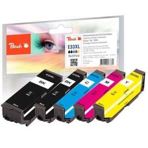 Peach  Spar Pack Tintenpatronen kompatibel zu Hersteller-ID: No. 33XL, T3357 Druckerpatronen