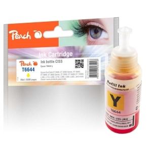 Peach  Tintenbehälter gelb kompatibel zu Hersteller-ID: T6644, T664440 Toner