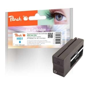 Peach  Tintenpatrone schwarz kompatibel zu Hersteller-ID: No. 950, CN049AE Druckerpatronen