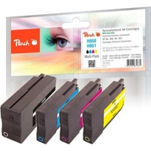 Peach  Spar Pack Tintenpatronen kompatibel zu Hersteller-ID: No. 950, No. 951 Tinte