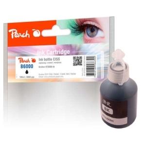 Peach  Tintenbehälter pigm. schwarz kompatible zu Brother BT6000 Hersteller-ID: BT6000BK Druckerpatronen