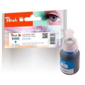 Peach  Tintenbehälter cyan kompatibel zu Hersteller-ID: BT5000C Druckerpatronen