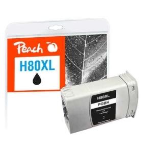 Peach  Tintenpatrone schwarz kompatibel zu Hersteller-ID: No. 80, C4871A Tinte