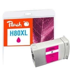 Peach  Tintenpatrone magenta kompatibel zu Hersteller-ID: No. 80, C4847A Tinte