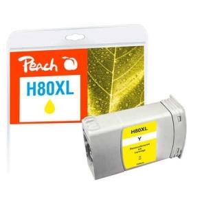 Peach  Tintenpatrone gelb kompatibel zu Hersteller-ID: No. 80, C4848A Druckerpatronen