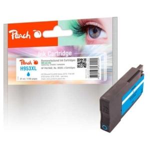 Peach  Tintenpatrone cyan HC kompatibel zu Hersteller-ID: No. 953XL, F6U16AE Tinte