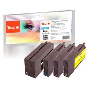 Peach  Spar Pack Tintenpatronen kompatibel zu Hersteller-ID: No. 953XL Druckerpatronen
