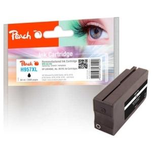 Peach  Tintenpatrone schwarz HC kompatibel zu Hersteller-ID: No. 957XL, L0R40AE Druckerpatronen