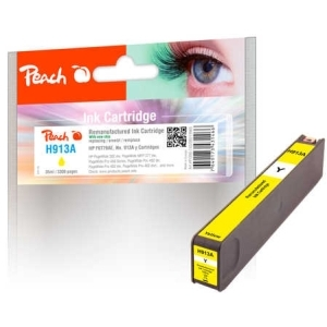 Peach  Tintenpatrone gelb kompatibel zu Hersteller-ID: No. 913A, F6T79AE Tinte