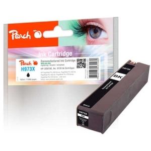 Peach  Tintenpatrone schwarz HC kompatibel zu Hersteller-ID: No. 973X, L0S07AE Druckerpatronen