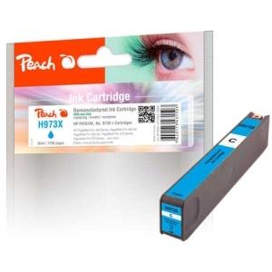 Peach  Tintenpatrone cyan HC kompatibel zu Hersteller-ID: No. 973X, F6T81AE Druckerpatronen