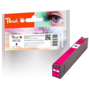 Peach  Tintenpatrone magenta HC kompatibel zu Hersteller-ID: No. 973X, F6T82AE Tinte