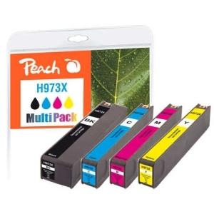 Peach  Spar Pack Tintenpatronen kompatibel zu Hersteller-ID: No. 973X Tinte