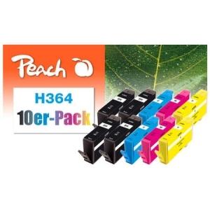 Peach  10er-Pack Tintenpatronen kompatibel zu Hersteller-ID: No. 364 Tinte