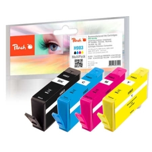 Peach  Spar Pack Tintenpatronen kompatibel zu Hersteller-ID: No. 903 Toner