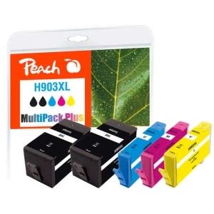 Peach  Spar Pack Plus Tintenpatronen kompatibel zu Hersteller-ID: No. 903XL Tinte