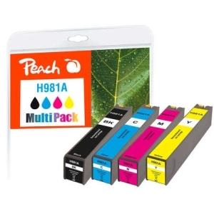 Peach  Spar Pack Tintenpatronen kompatibel zu Hersteller-ID: No. 981A Tinte