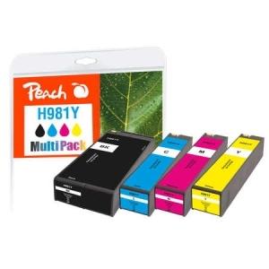 Peach  Spar Pack Tintenpatronen kompatibel zu Druckerpatronen