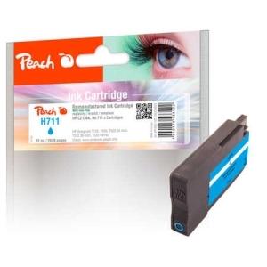 Peach  Tintenpatrone cyan kompatibel zu  Hersteller-ID: No. 711, CZ130AE Druckerpatronen