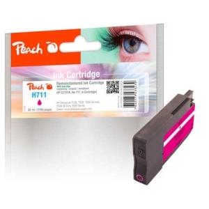 Peach  Tintenpatrone magenta kompatibel zu  Hersteller-ID: No. 711, CZ131AE Tinte