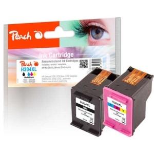 Peach  Spar Pack Druckköpfe kompatibel zu Hersteller-ID: No. 304XL Tinte