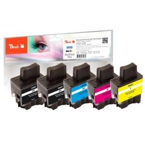 Peach  Spar Pack Plus Tintenpatronen kompatibel zu Hersteller-ID: LC-900 Druckerpatronen
