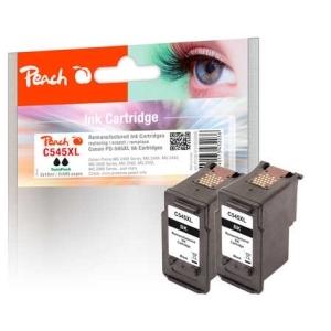 Peach  Doppelpack Druckköpfe schwarz kompatibel zu Hersteller-ID: PG-545XL Druckerpatronen