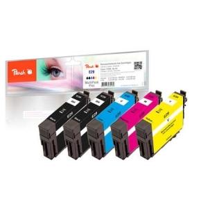 Peach  Spar Pack Plus Tintenpatronen kompatibel zu Hersteller-ID: No. 29 Toner