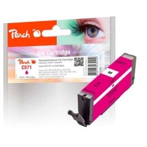 Peach  Tintenpatrone magenta kompatibel zu Hersteller-ID: CLI-571 m Tinte