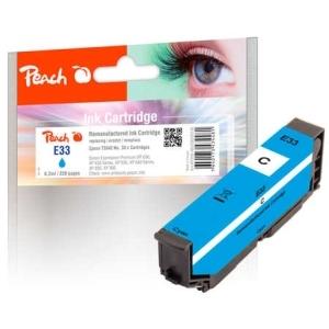 Peach  Tintenpatrone cyan kompatibel zu Hersteller-ID: No. 33 c, T3342 Tinte