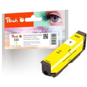 Peach  Tintenpatrone gelb kompatibel zu Hersteller-ID: No. 33 y, T3344 Tinte